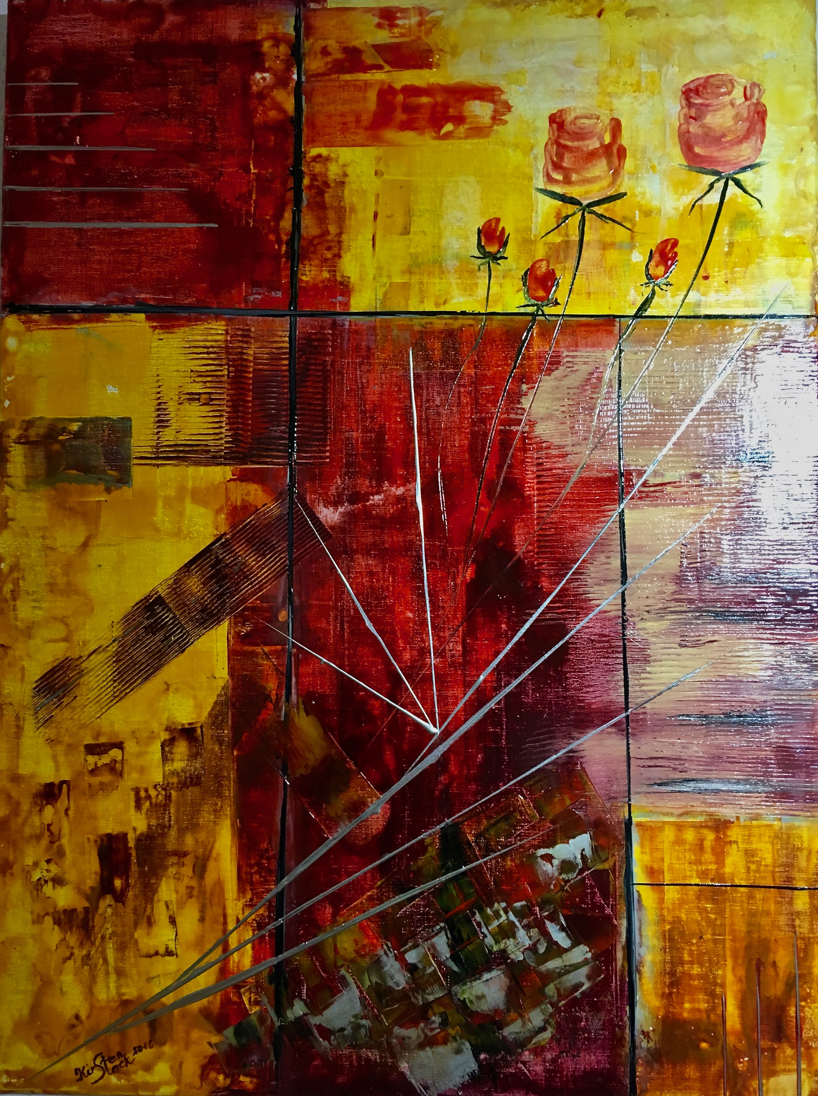 Kirsten Stock - Encaustic